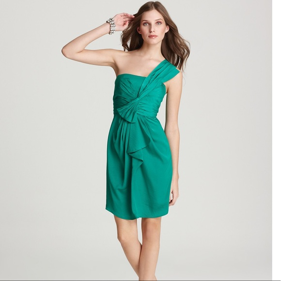 BCBG Max Azria One Shoulder Dress